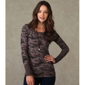 {we the free} recollections animal print thermal